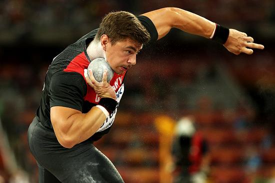 Atletizm Branşları - Atmalar - Gülle Atma