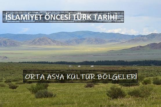 Orta Asya'daki Kültür Bölgeleri